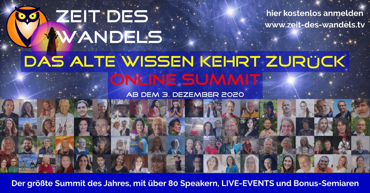 Zeit des Wandels Online Summit Dezember 2021