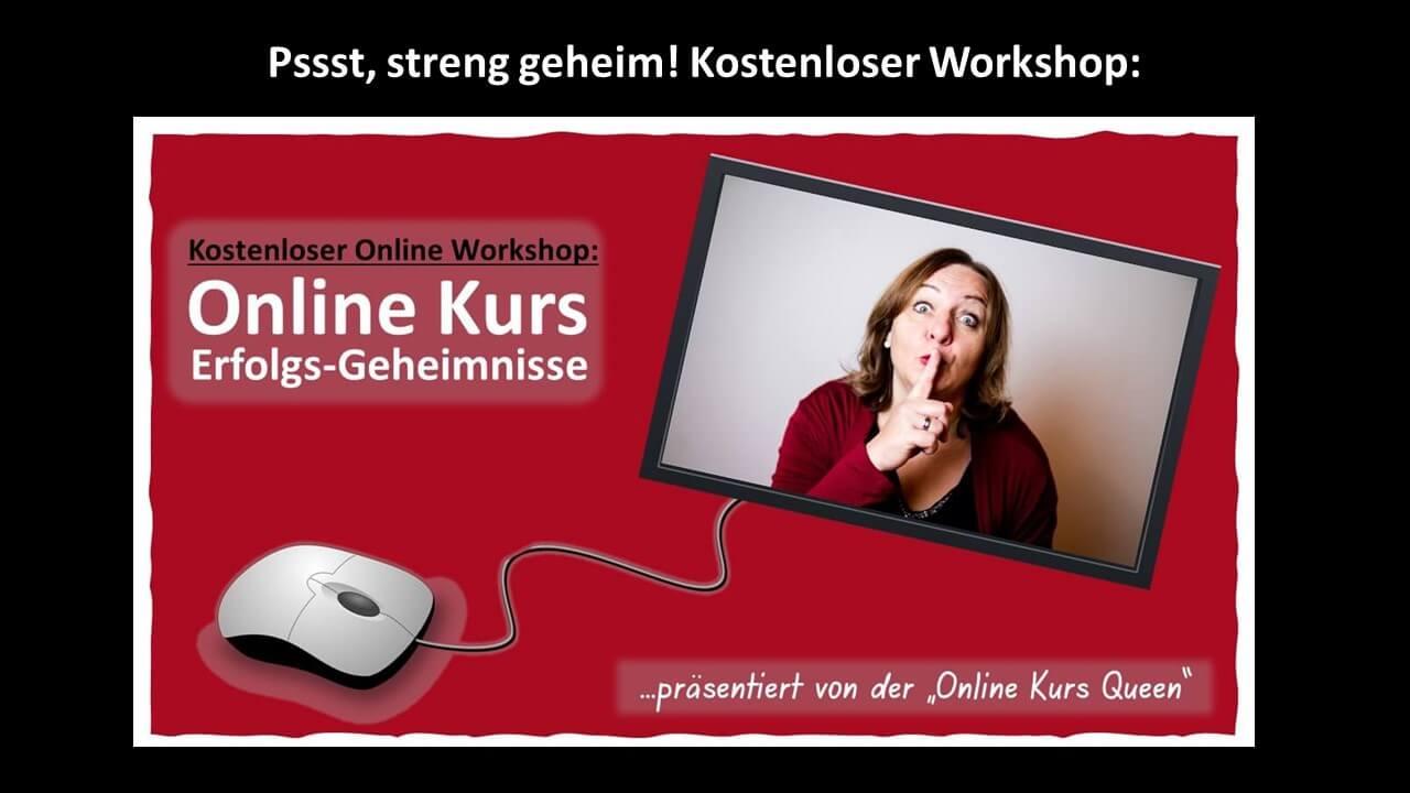 Online Kurs Geheimnisse kostenloser Workshop | Meike Hohenwarter