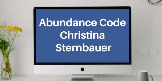 Abundance Code Christina Sternbauer