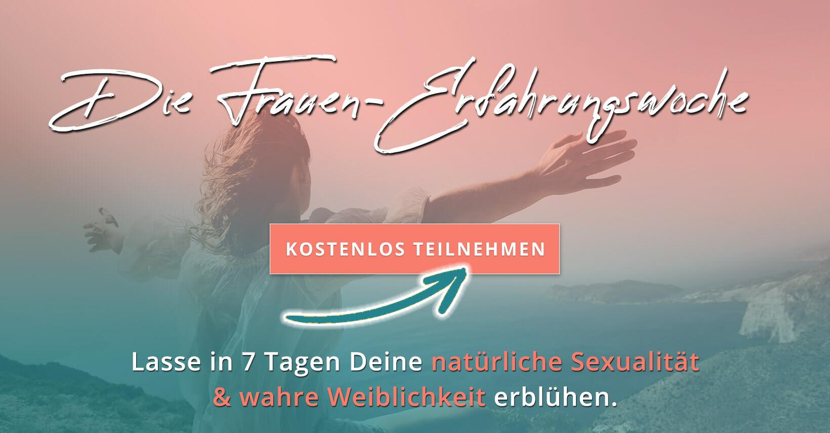 Frauen-Erfahrungswoche - Online Retreat - Akademie der Weiblichkeit