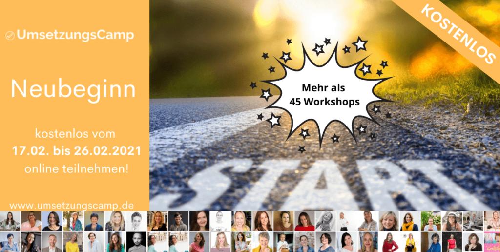 Umsetzungscamp Workshops