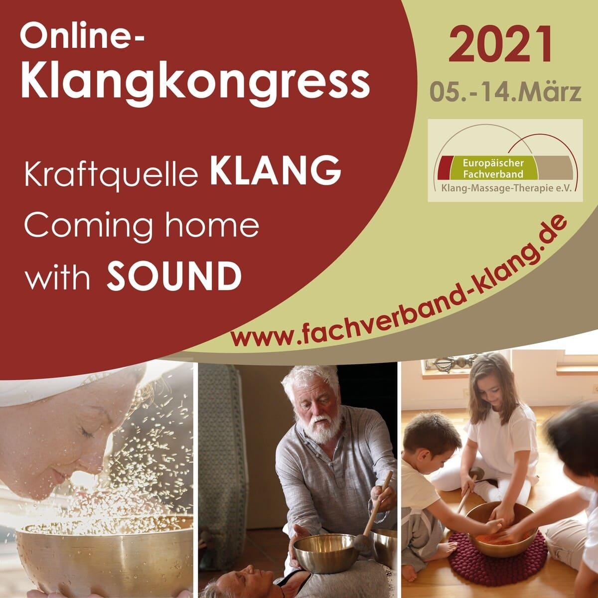 Klangkongress Kraftquelle Klang 2021