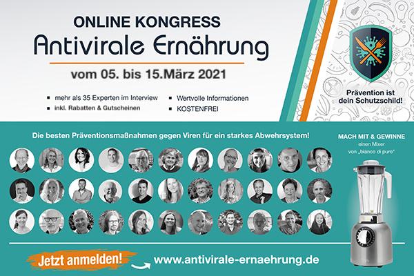Antivirale Ernährung Online-Kongress 2021