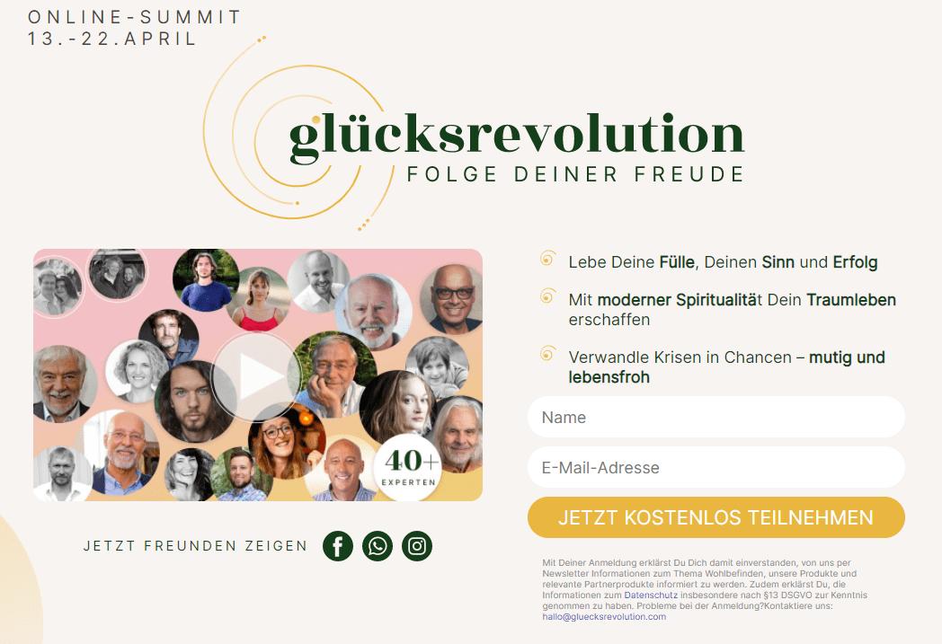Glücksrevolution Online-Summit 2021