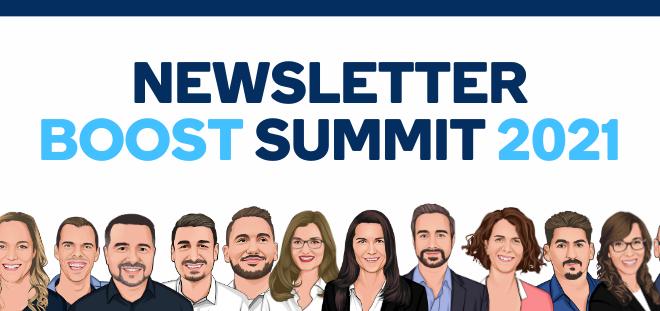 Newsletter BOOST Summit 2021