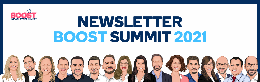 Newsletter BOOST Summit 2021