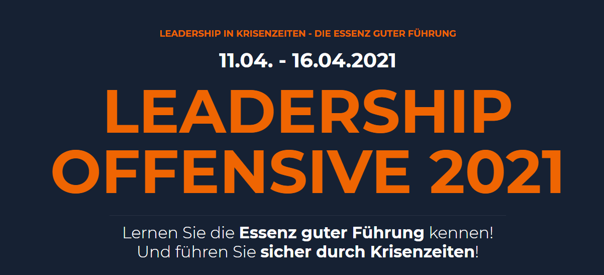 Leadershipkongress by Stephan Schmitt 2021