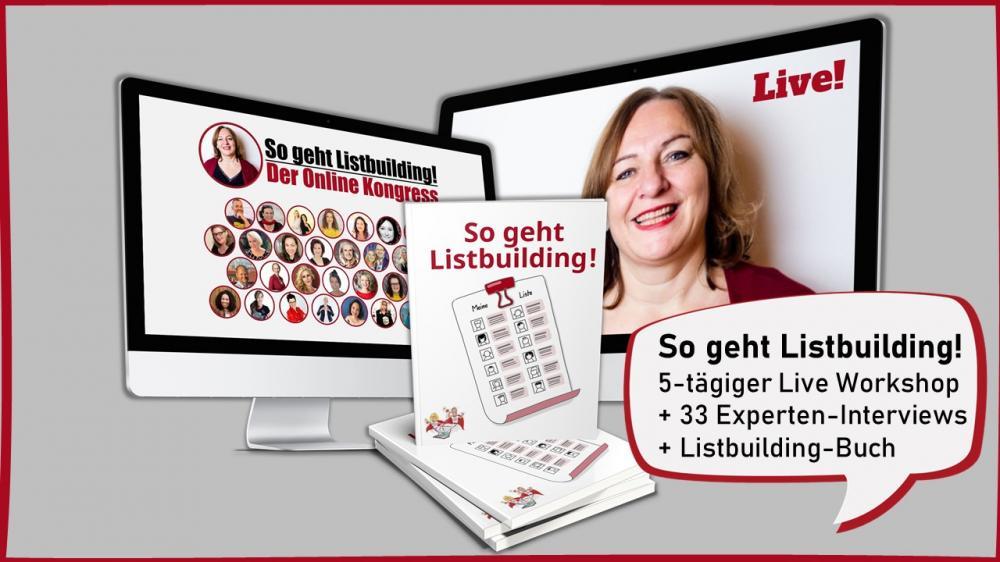 Listbuilding Live Workshop Meike Hohenwarter