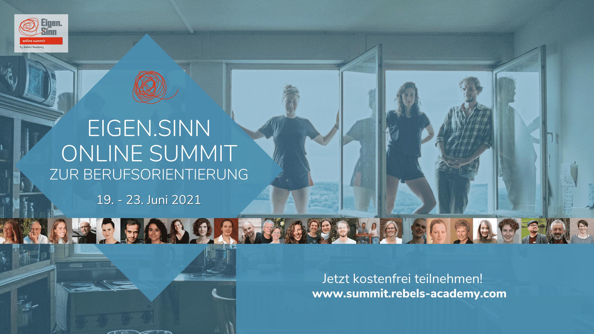 Eigen.Sinn Online-Summit 2021 zur Berufsorientierung