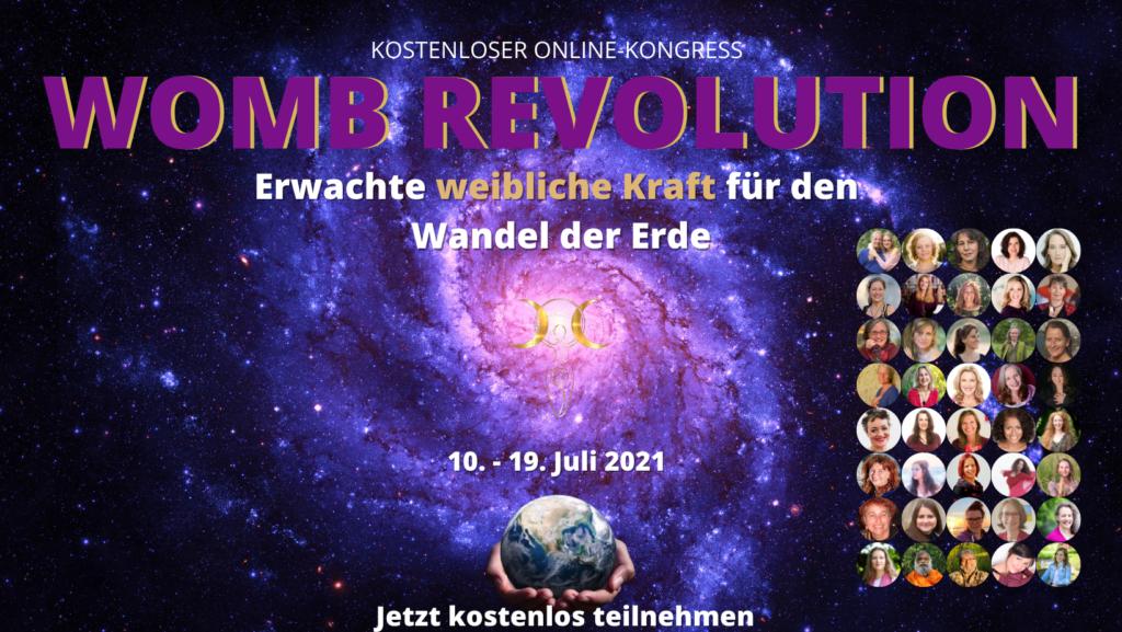 WOMB REVOLUTION – Erwachte weibliche Kraft für den Wandel der Erde