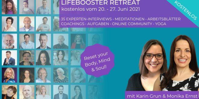 lifebooster retreat mit Karin Grun und Monika Ernst