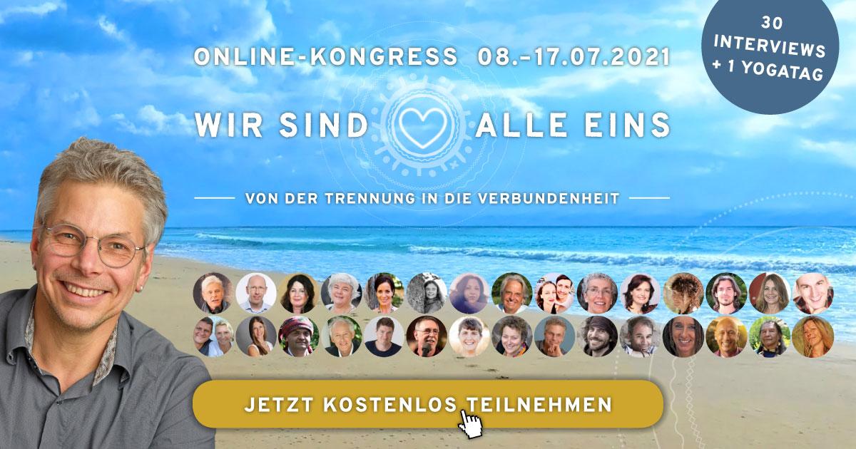 Wir sind alle eins Online-Kongress 2021