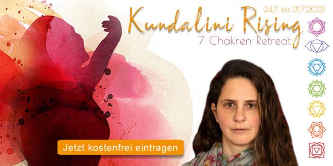 7-Chakren-Online-Retreat Kundalini Rising