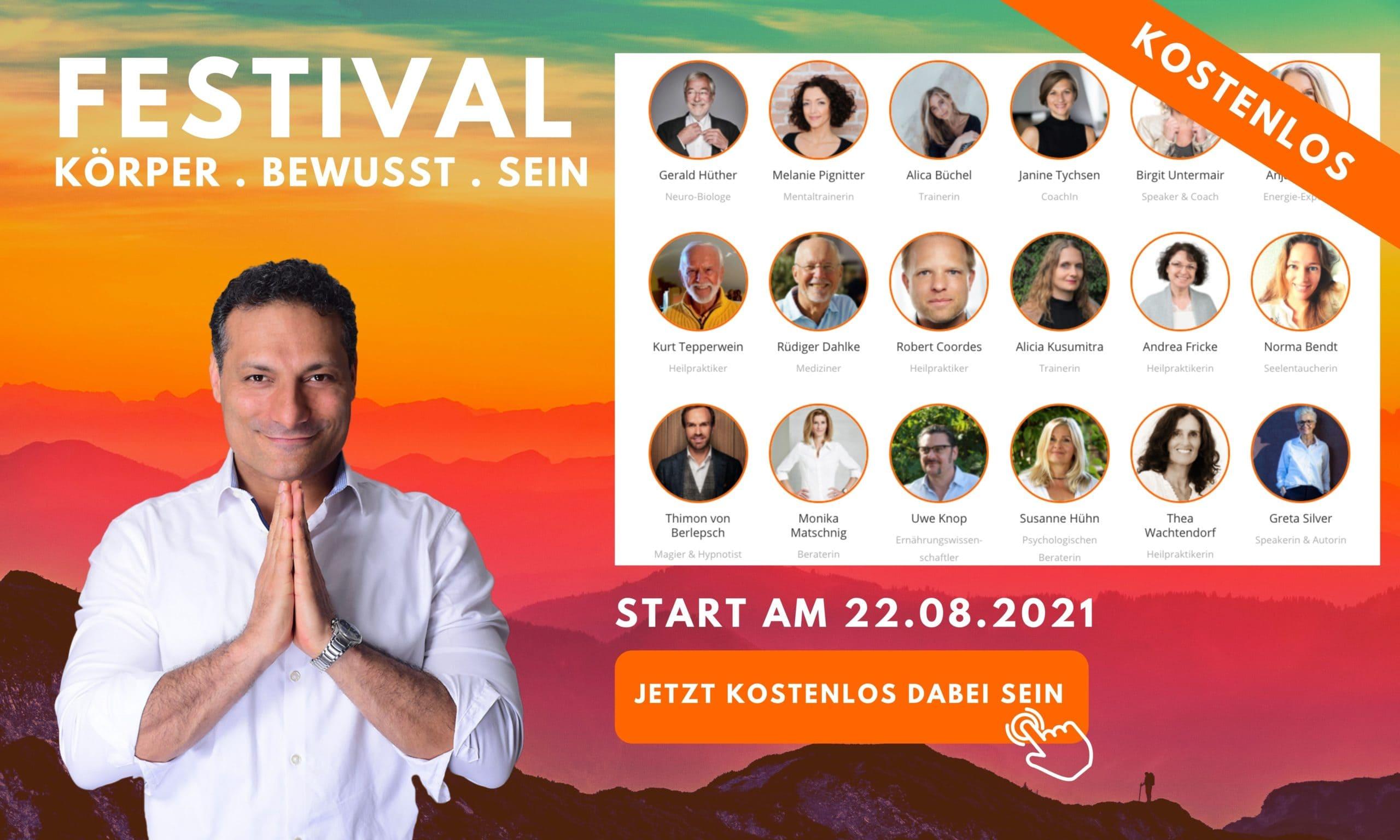 Körper Bewusst Sein Festival 2021 Schlankness®