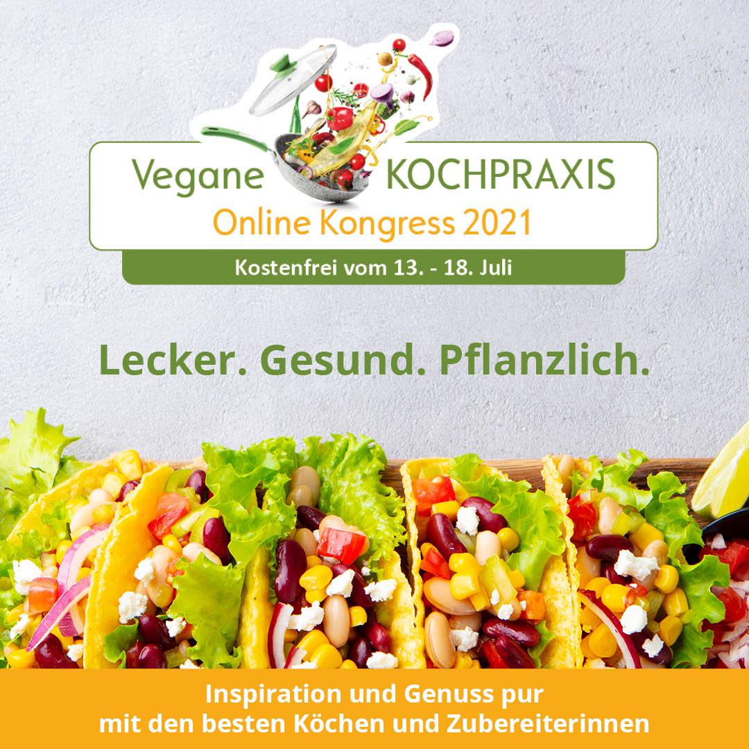 Vegane Kochpraxis-Kongress 2021