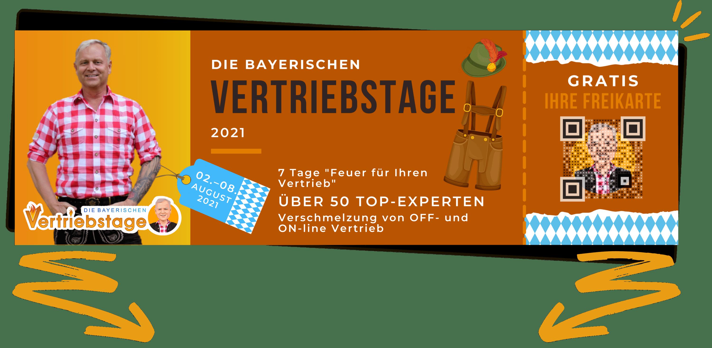 Bayrischen Vertriebstage Online-Kongress 2021