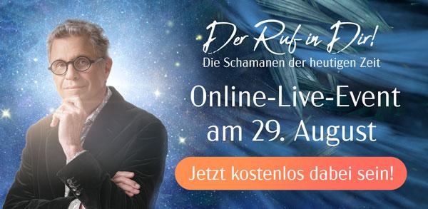 Schamanen Live-Online-Event mit Alberto Villoldo