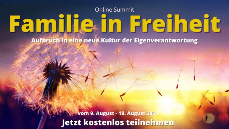 Familie-in-Freiheit Online-Summit