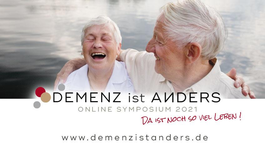 Demenz ist anders Online Symposium 2021