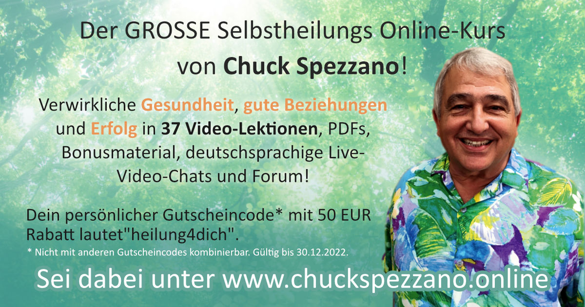 Dr. Chuck Spezzano Selbstheilung Online-Kurs