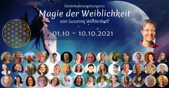 Magie der Weiblichkeit Seelennahrungskongress