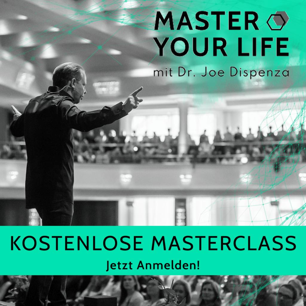 Master Your Life kostenfreie Masterclass