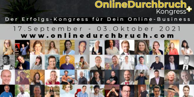 OnlineDurchbruch Kongress