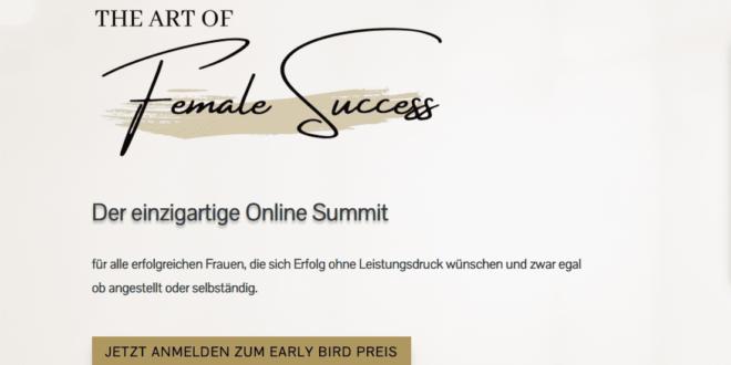 The Art of Female Success Onlinesummit