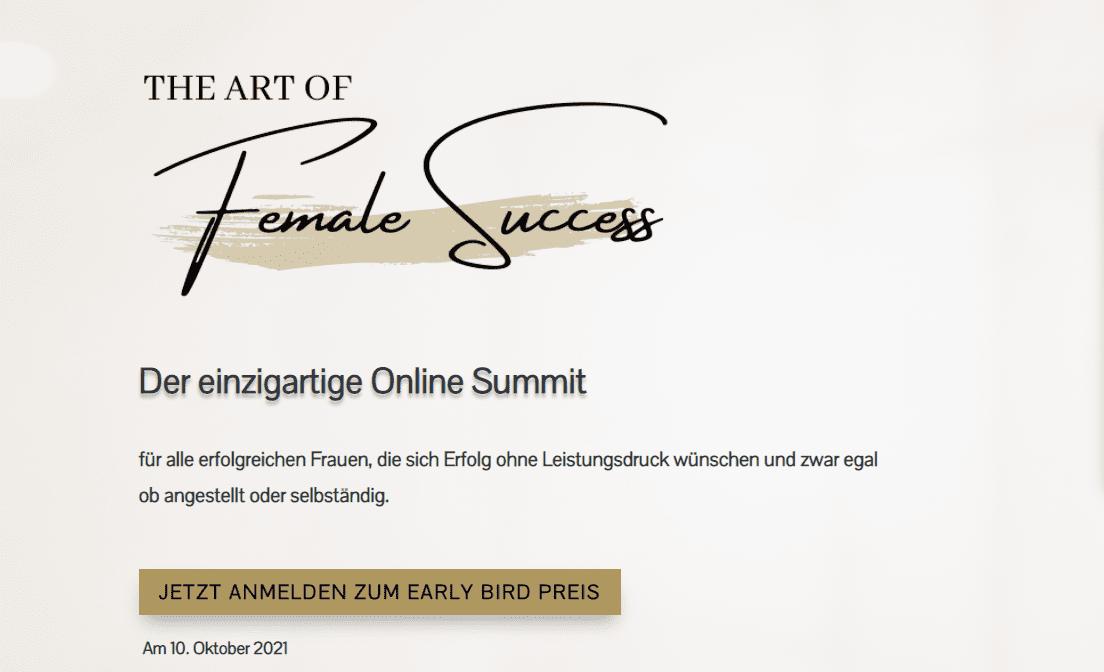 The Art of Female Success Online Summit