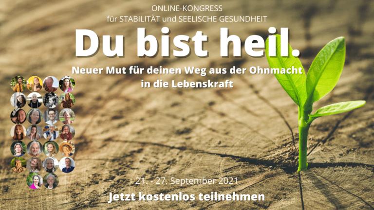 Du bist heil Online Kongress 2021