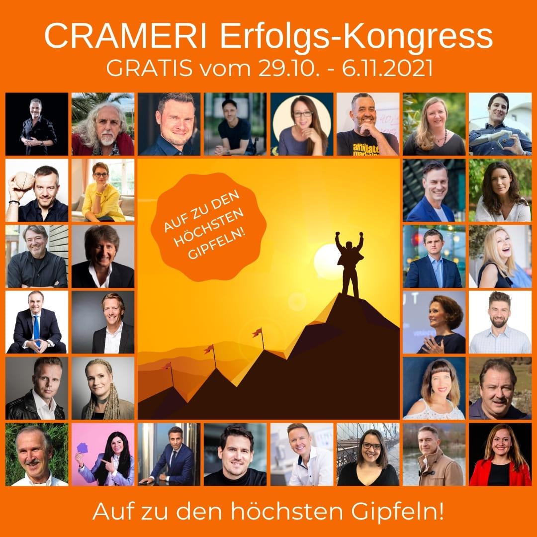1. CRAMERI Erfolgs-Kongress 2021