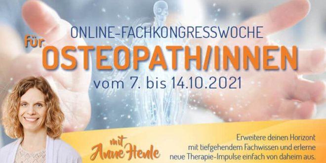 Fachkongresswoche für Osteopathen und Osteopathinnen