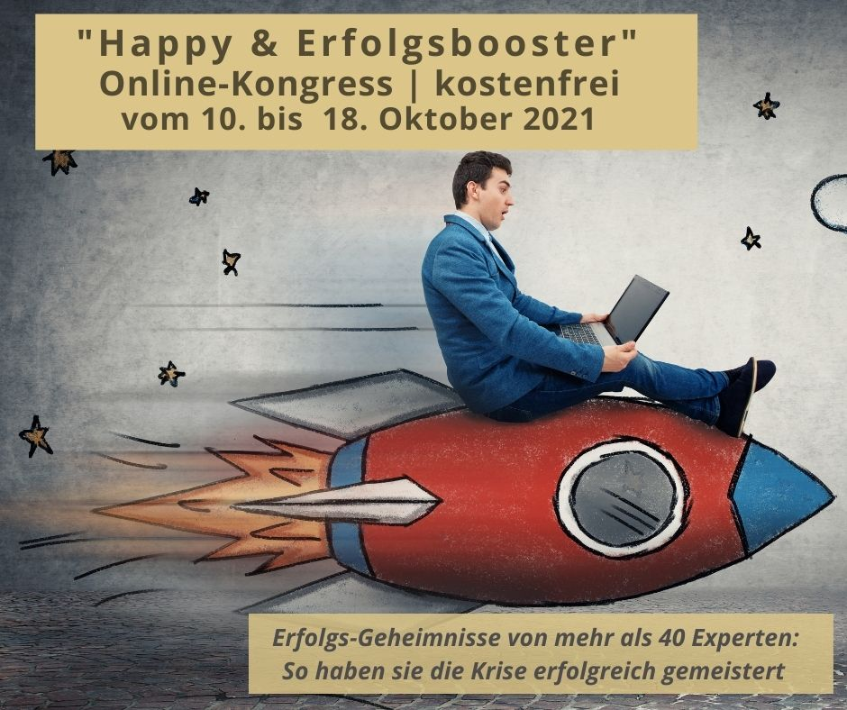 Happy & Erfolgsbooster Online-Kongress 2021