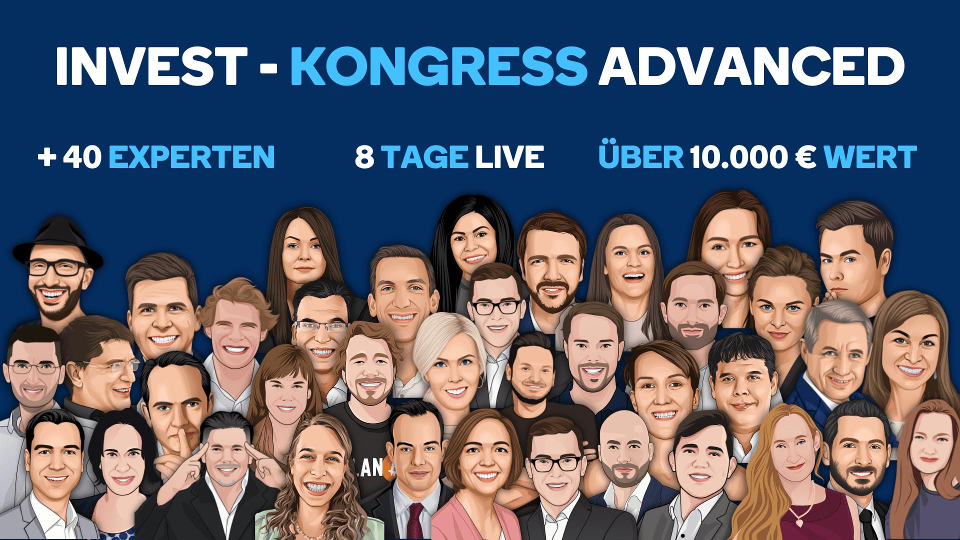 Invest-Kongress Advanced der Geldhelden 2021