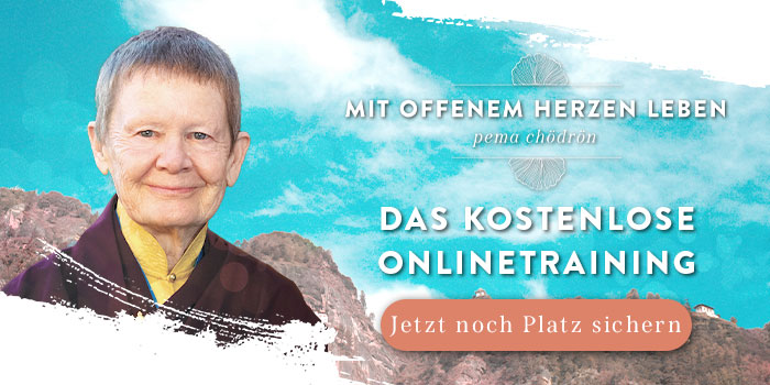 Pema Chödrön kostenfreie Onlinetraining 2021